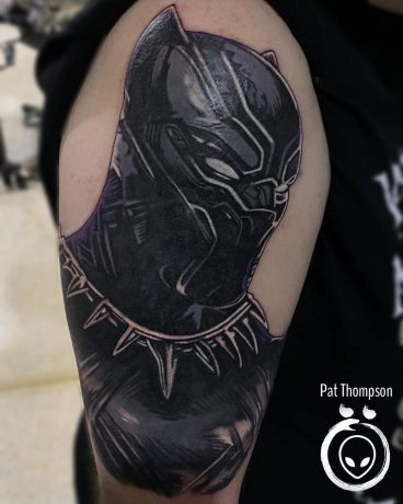 Alien Art Tattoo