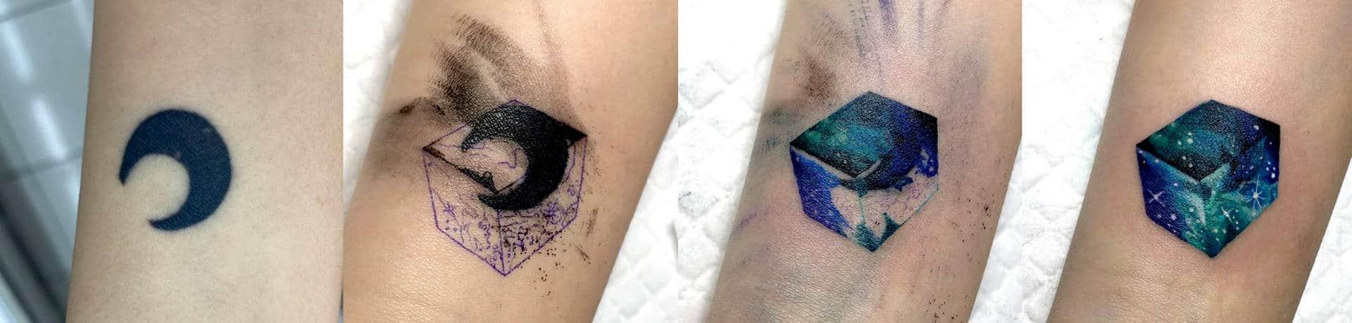tattoo coverup design in hand