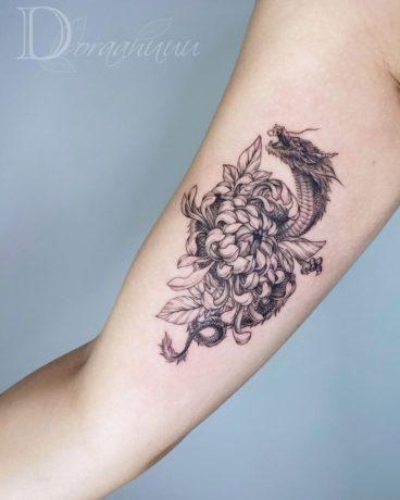 Dragon Tattoo for Female